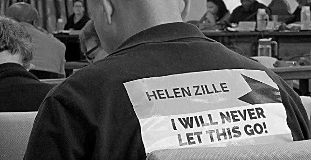 Mike hampton-Helen Zille, I will never let this go