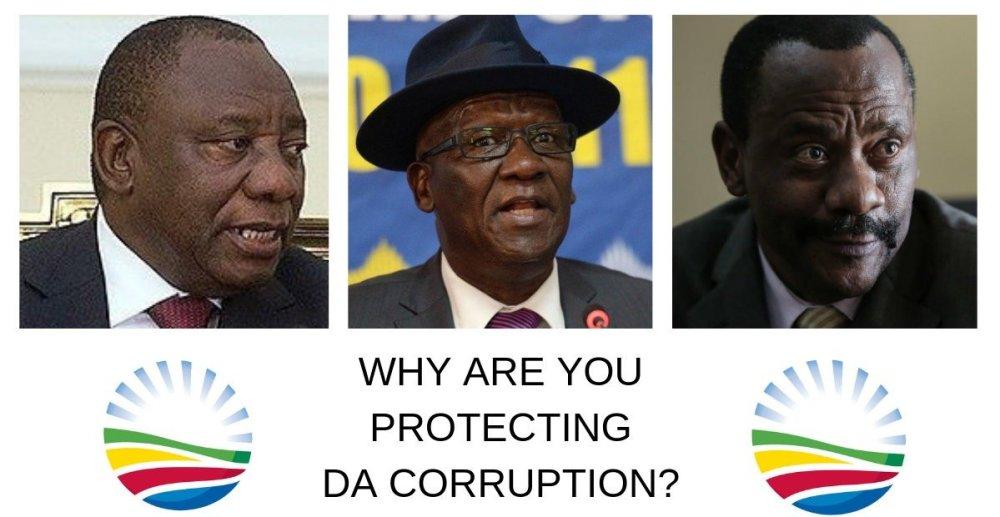 Hawks DPCI Democratic Alliance corruption Cyril Ramaphosa Godrey lebeya Bheki Cele