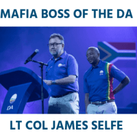 James Selfe mafia boss Democratic Alliance