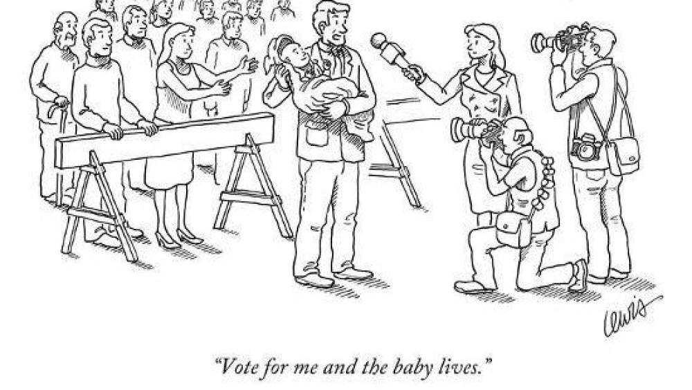 Western Cape democracy - vote for me and the baby lives