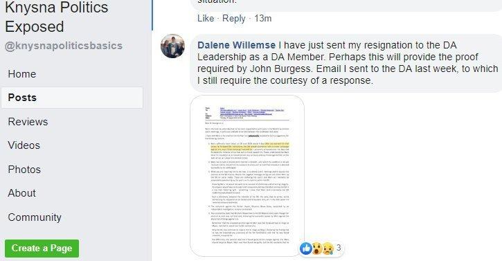 2019.08.15a1 Dalene Willemse quits DA