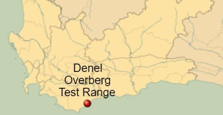Denel Overberg Weapons Testing Range Soutrh Africa