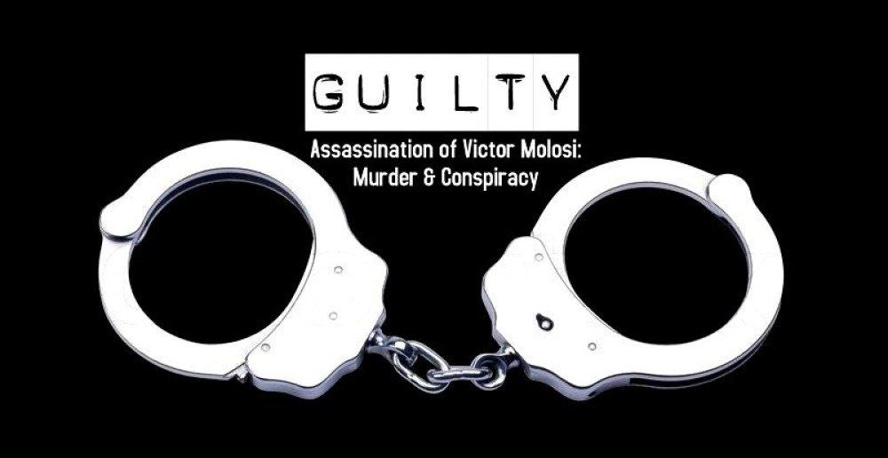 guilty knysna victor molosi assassination velile waxa