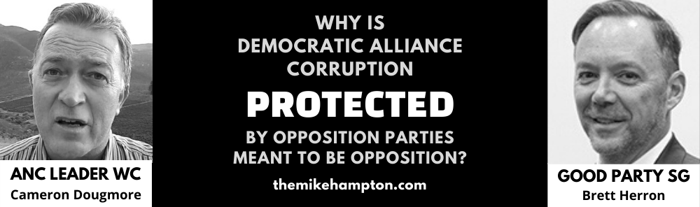 DA Corruption South Africa - Cameron Dougmore Brett Herron