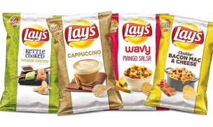 Lays cappuccino potato chips