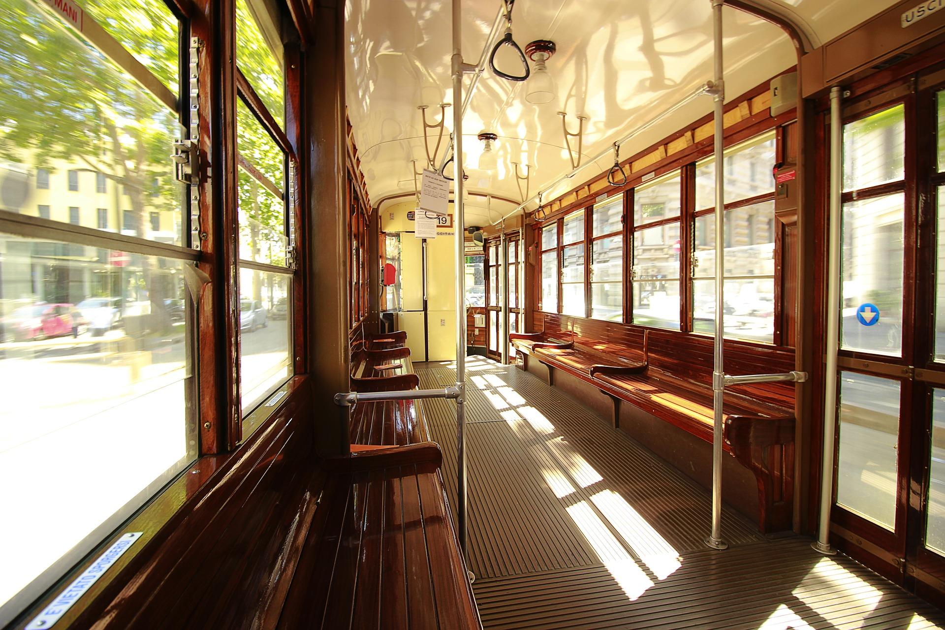 Vintage streetcars