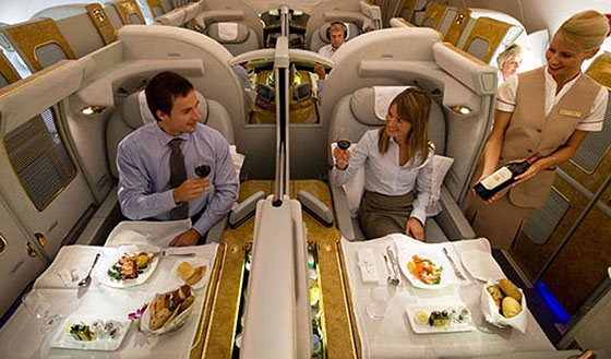 Alaska Airlines devalues award chart–No more 90,000 mile Emirates First Class
