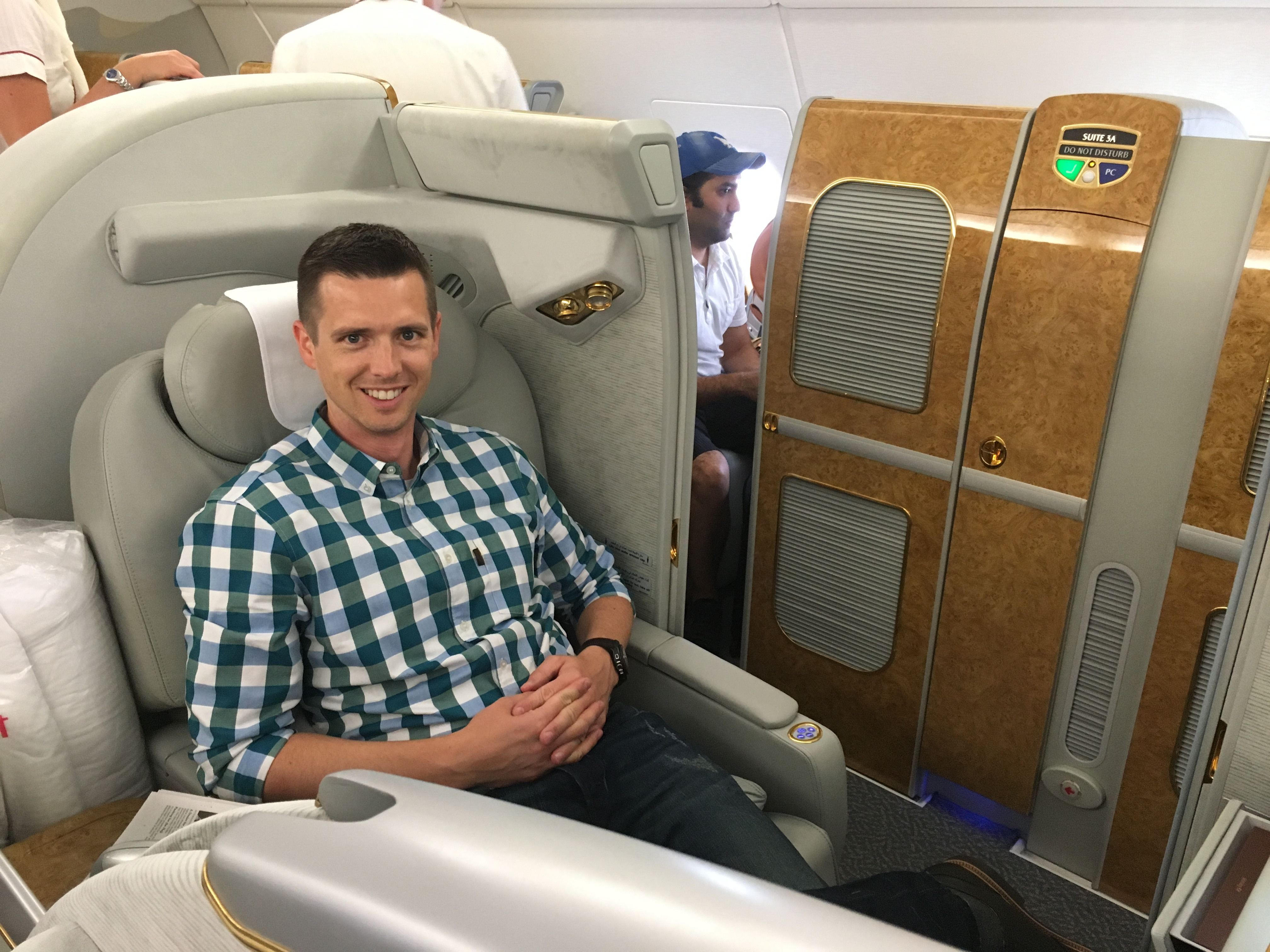 Amazing Flight Emirates A380 First Class New York To