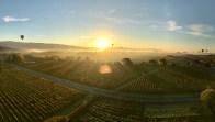 sunrise hot air balloon flight napa valley