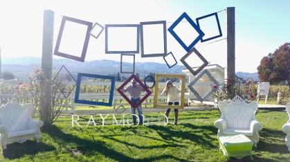 Raymond napa valley, andaz napa, redeem chase ultimate rewards,