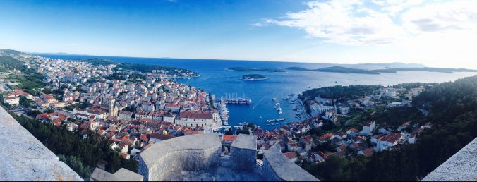How to book Europe with Ultimate Rewards, Hvar, Croatia