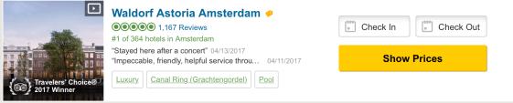 waldorf astoria amsterdam best hotel in amsterdam