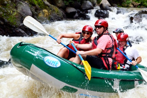 costa rica white water rafting, american airlines, westin playa conchal