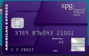 american express starwood preferred guest earn bonus miles