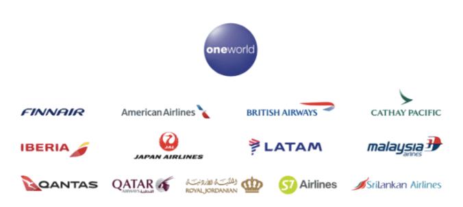 Oneworld alliance 2018