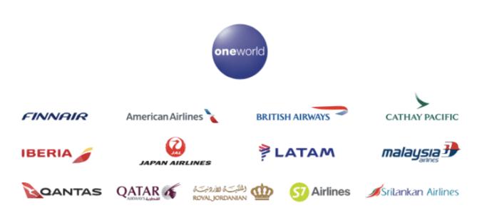 Oneworld alliance 2019