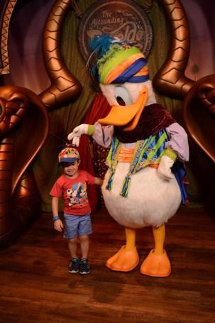 Donald Duck Walt Disney World