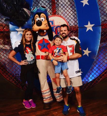 Goofy at Walt Disney World