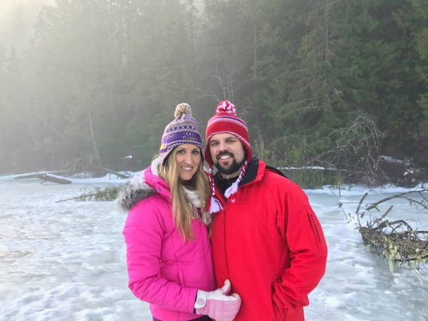 Ice fishing in BC, Canada; How to book American Airlines flights with Chase Ultimate Rewards
