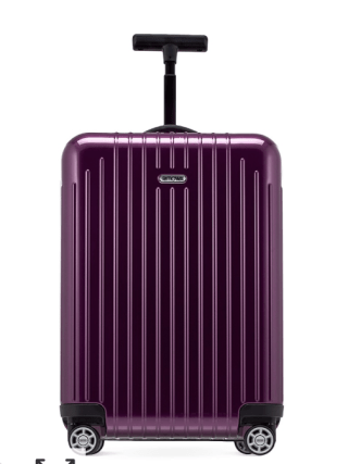 rimowa salsa air, what to pack for Italy