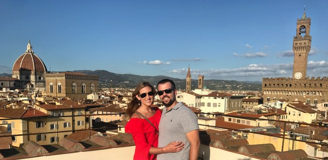Florence with Chase Ultimate Rewards points