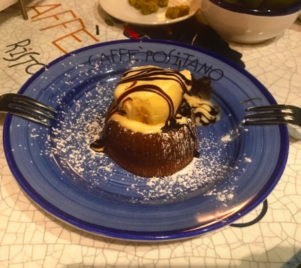 Dessert at Caffe Positano