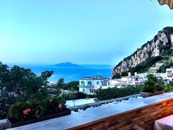 capri italy dinner