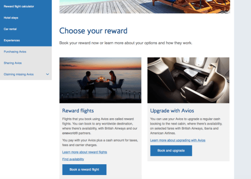 booking American Airlines with British airways