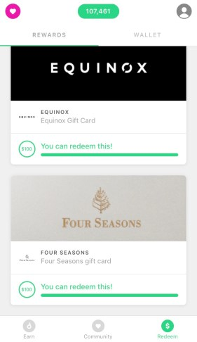 Earn free Four Seasons gift cards with the Drop app.