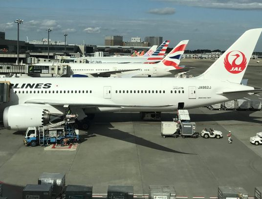 JAL NRT to DFW with British Airways Avios