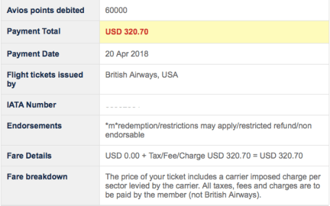 British Airways fuel surcharges Japan Airlines