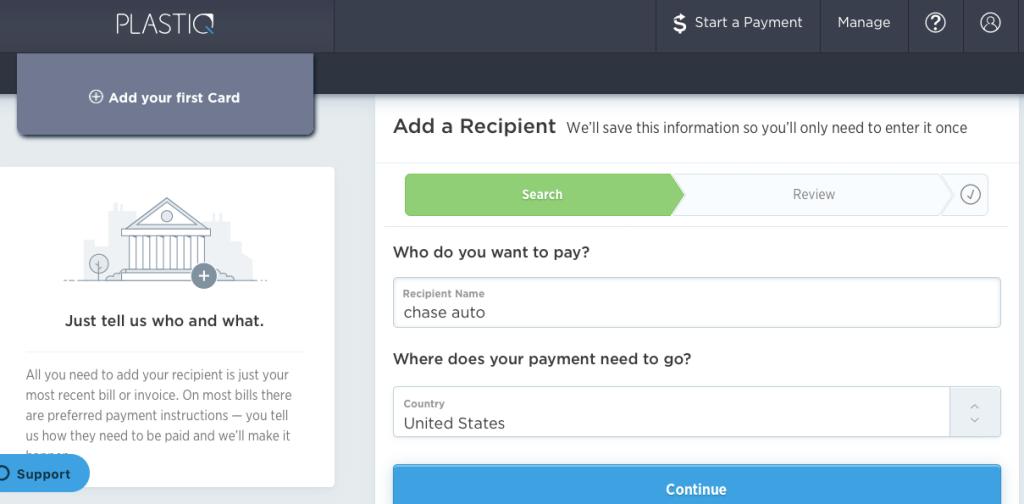 Pay with plastiq