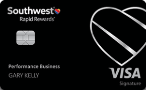 Southwest Rapid Rewards performance business card