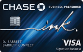 Chase ink business preferred 2019, best business travel credit cards