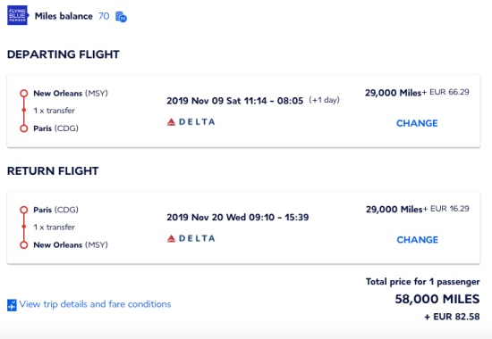 how to book delta flight with chase