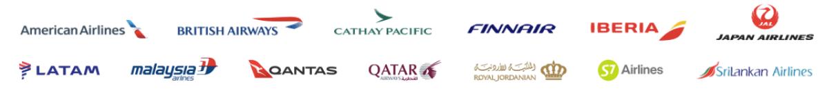 Oneworld alliance member airlines 2019