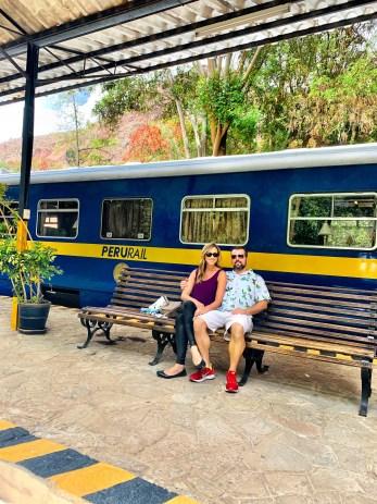 Train station at Urubamba, Tambo del Inka