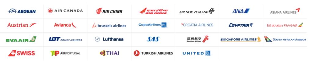 Star alliance member airlines