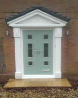 The Genoa as a French door in Chartwell Green