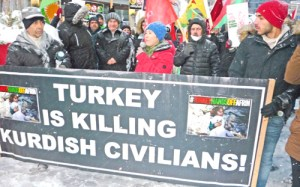 Protest Turkish rulers' war against Kurds in Afrin!