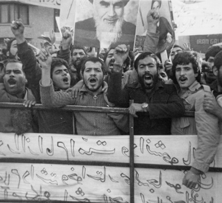 Tehran in December 1979, protesting Washington's attempts to overturn revolution. The upheaval in Iran was a deep-going, modern, popular social revolution in city and countryside. It reverberated across Middle East and around the world.
