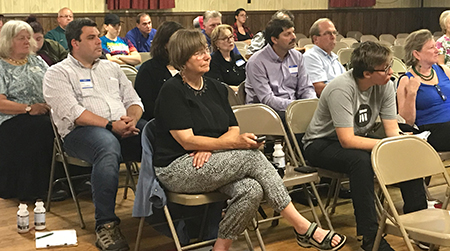 Intensity marked Dairy Farm Family Crisis Hearing in Lairdsville, Pennsylvania, July 24.