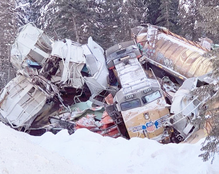 Rail bosses' shoddy inspection and maintenance was responsible for air brakes failing on Canadian Pacific train that derailed in British Columbia Feb. 4, killing three rail workers.