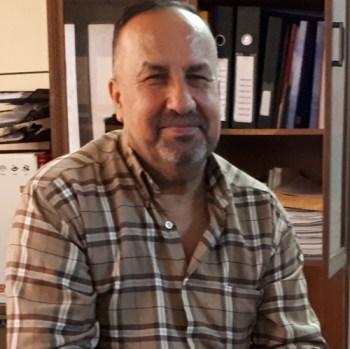 Ghanim Ilyas Saleem, gerente de organización juvenil Ghasin Al-Zaiton (Rama de Olivo).