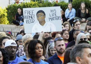 Nov. 9 protest in Austin, Texas, against execution of Rodney Reed, on death row over 20 years.