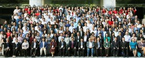 Some of the 300 participants in International Society for the Study of Chinese Overseas conference in Guangzhou, China, November 8-11.