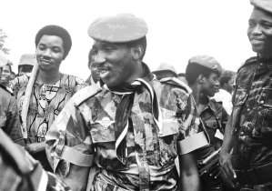 Thomas Sankara, above, led popular revolution in 1983-87 bringing the toilers to power in Burkina Faso. There is no comparable revolutionary leadership anywhere in West Africa today.