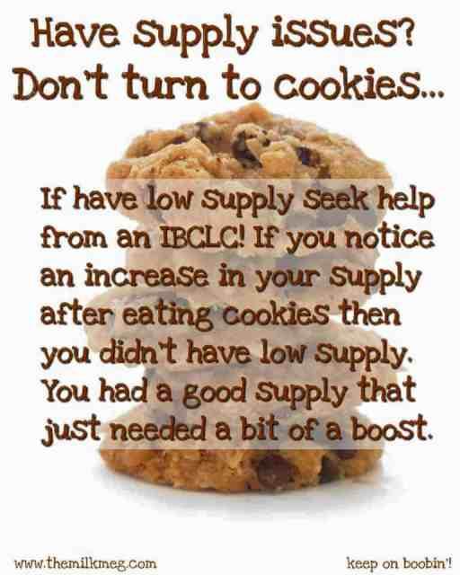 breastfeeding, cookies, lactation, milk supply