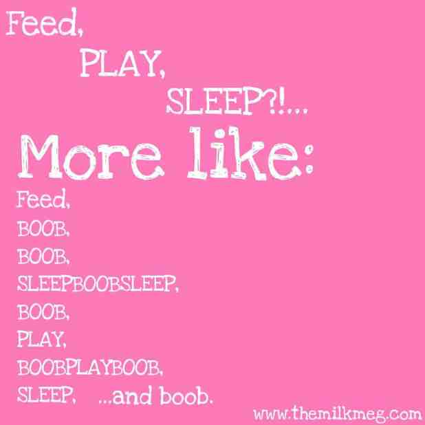 feed play sleep, breastfeeding, breastfed baby, routines, eat, play, sleep routine