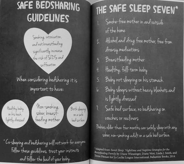 bedsharing, co-sleeping, breastfeeding